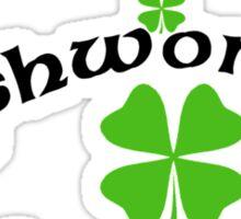 Funny Irish Woman Sticker