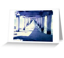 Pier - Point Lonsdale Greeting Card
