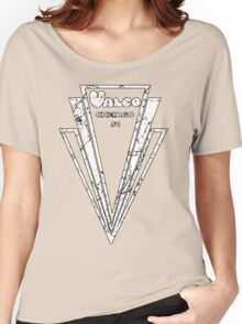 Distressed Valco Logo Women's Relaxed Fit T-Shirt