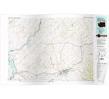 USGS Topo Map Washington Walla Walla 244511 1980 100000 Poster