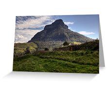 Mount Lindesay • Queensland • Australia Greeting Card