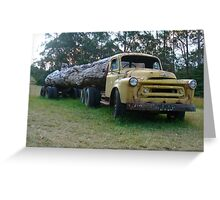 Old logging truck, Bilpin, NSW Greeting Card