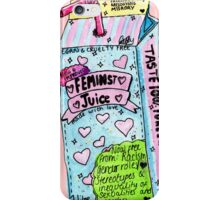 feminist juice iPhone Case/Skin