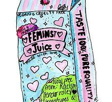feminist juice by gabbyloscalzo