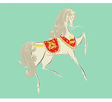Dancing Horse Photographic Print