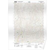 USGS Topo Map Oregon Dutchman Butte 20110831 TM Poster