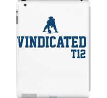 Tom Brady VINDICATED iPad Case/Skin