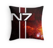 N7 Mass Effect Throw Pillow