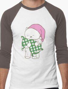 White Teddy Bear Men's Baseball ¾ T-Shirt