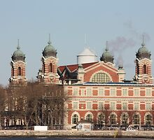 Ellis Island by Cathy Cale
