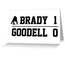 Brady vs. Goodell Greeting Card