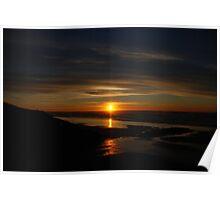 Sunset Oregon Poster