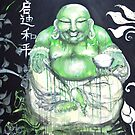 Laughing Buddha ~ Enlightened Path to Peace &amp; Love by whittyart