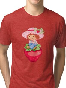 Strawbery Girl Tri-blend T-Shirt