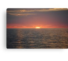 Beautiful sunrise Canvas Print