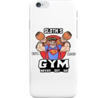 Funny Gym Sloth The Goonies Fitness iPhone Case/Skin