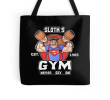 Funny Gym Sloth The Goonies Fitness Tote Bag