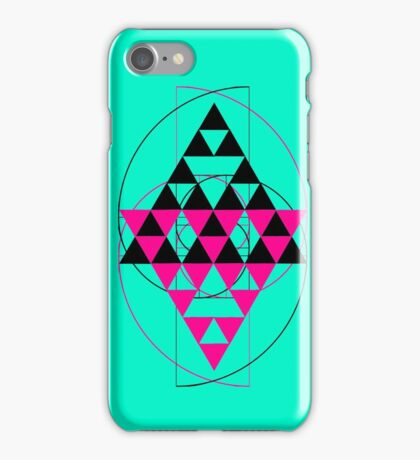 Golden Pyramids P iPhone Case/Skin