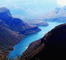 Blyde River Canyon, Sth Africa by Deb Gibbons
