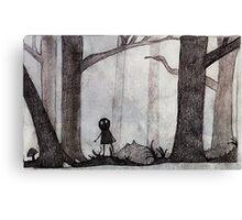 ..Monochrome: Lost.. Canvas Print