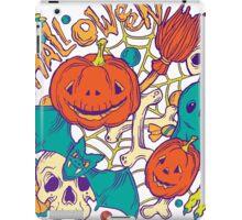Halloween design with wicth stuff iPad Case/Skin