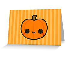 Cute Jack O' Lantern Greeting Card