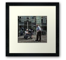 Times they are changing Framed Print