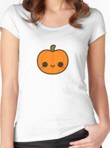 Cute Jack O' Lantern Women's Fitted Scoop T-Shirt