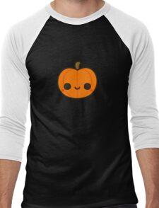 Cute Jack O' Lantern Men's Baseball ¾ T-Shirt