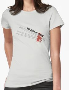 'Not Quite My Tempo' Whiplash Womens Fitted T-Shirt