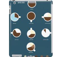 Coffee Guide iPad Case/Skin