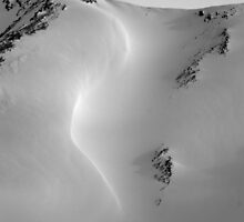 Drifting snow by Inksphoto