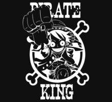 Pirate King Luffy, One Piece Anime by oncemoreteez