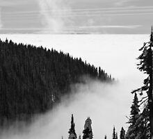 Descent Into The Cloud by Scott Richards