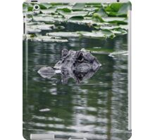 Gator of Curiosity iPad Case/Skin