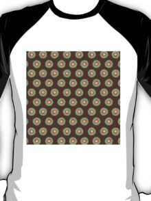 Polkadot Green and Brown T-Shirt