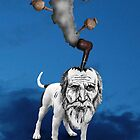 old man in the sky by costafarian