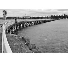 Victor Harbour Causeway Photographic Print