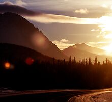 Through the Alaska Range on a Midwinter's Day by May-Le Ng
