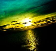Pattaya Sunset Scenery: Thailand...Got Featured Work by Kornrawiee