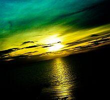Pattaya Sunset Scenery: Thailand...Got Featured Work by Kornrawiee