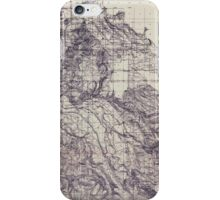 USGS Topo Map Oregon Boring 282192 1911 48000 iPhone Case/Skin
