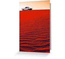 Toyota Hilux  Greeting Card