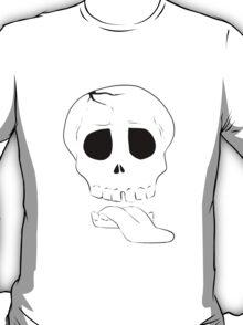 ZombieHIPPY • Skull - White T-Shirt