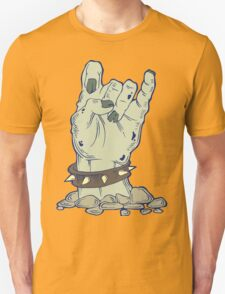 Grey zombie hand with bracelet T-Shirt
