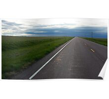 Western Roads Poster