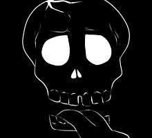 ZombieHIPPY • Skull - Black by ZombieHippy