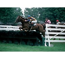 The Steeplechase Photographic Print