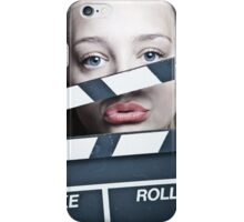 Clappergirl iPhone Case/Skin