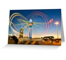 When Life's a Blur - Hold on Tight! Greeting Card